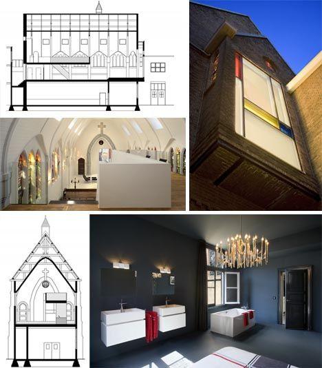 Church Remodeled Into Modern Home, Chimacum, Washington