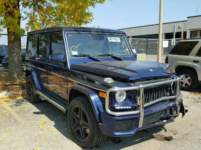 Salvage 2014 Mercedes Benz G 63 Amg Suv For Sale Salvage Title