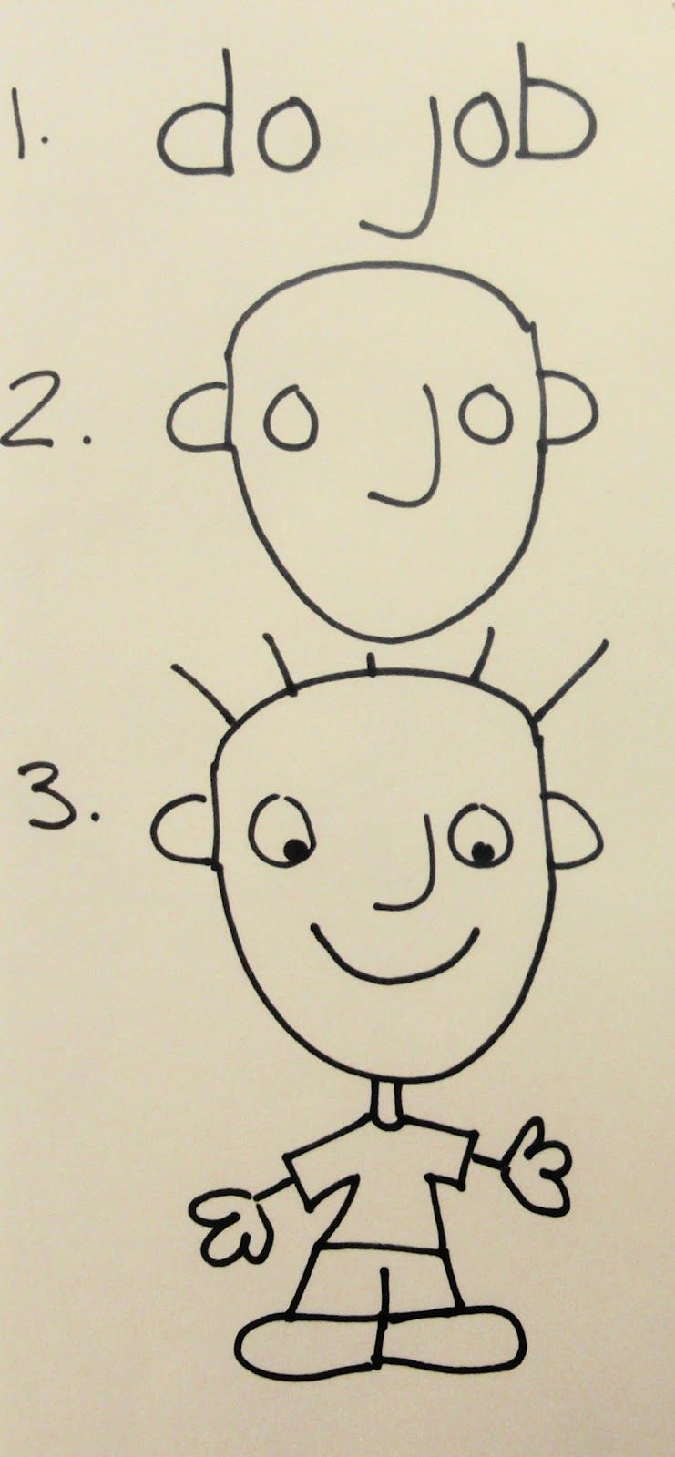How To Draw A Person For Kids  Google Search