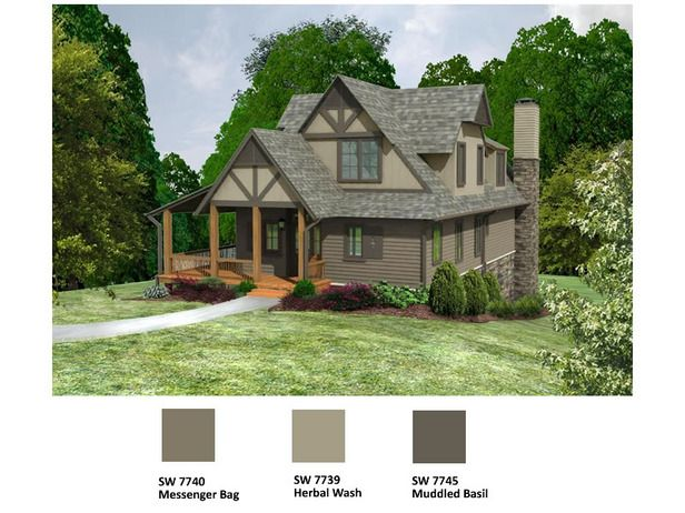 Tudor Cottage Color Combo Exterior Paint Colors