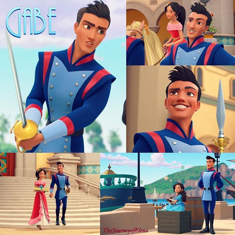 Lieutenant Captain Gabe Nuñes | Elena of Avalor