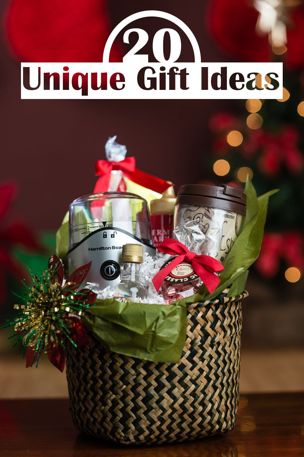 20 Unique Gift Ideas Show Off Your Taste With Coffee Gift Sets Christmas Gift Baskets Diy Diy Gift Set Easy Christmas Gifts