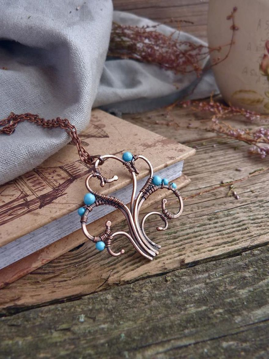 Large Ancient Forests Inspired Me To Create This Wire Wrapped ...