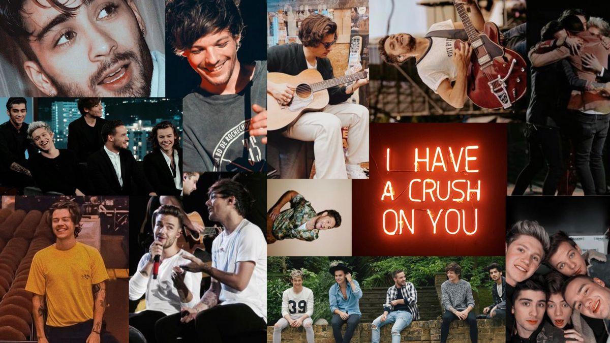 One Direction Desktop Wallpaper One Direction Wallpaper One Direction Collage One Direction Pictures
