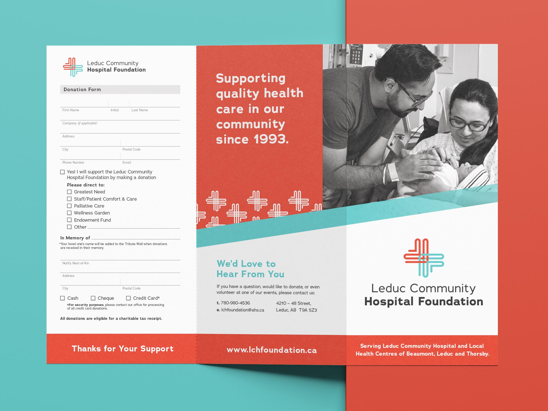 Leduc Community Hospital Foundation Brochure Community Hospital Brochure Hospital