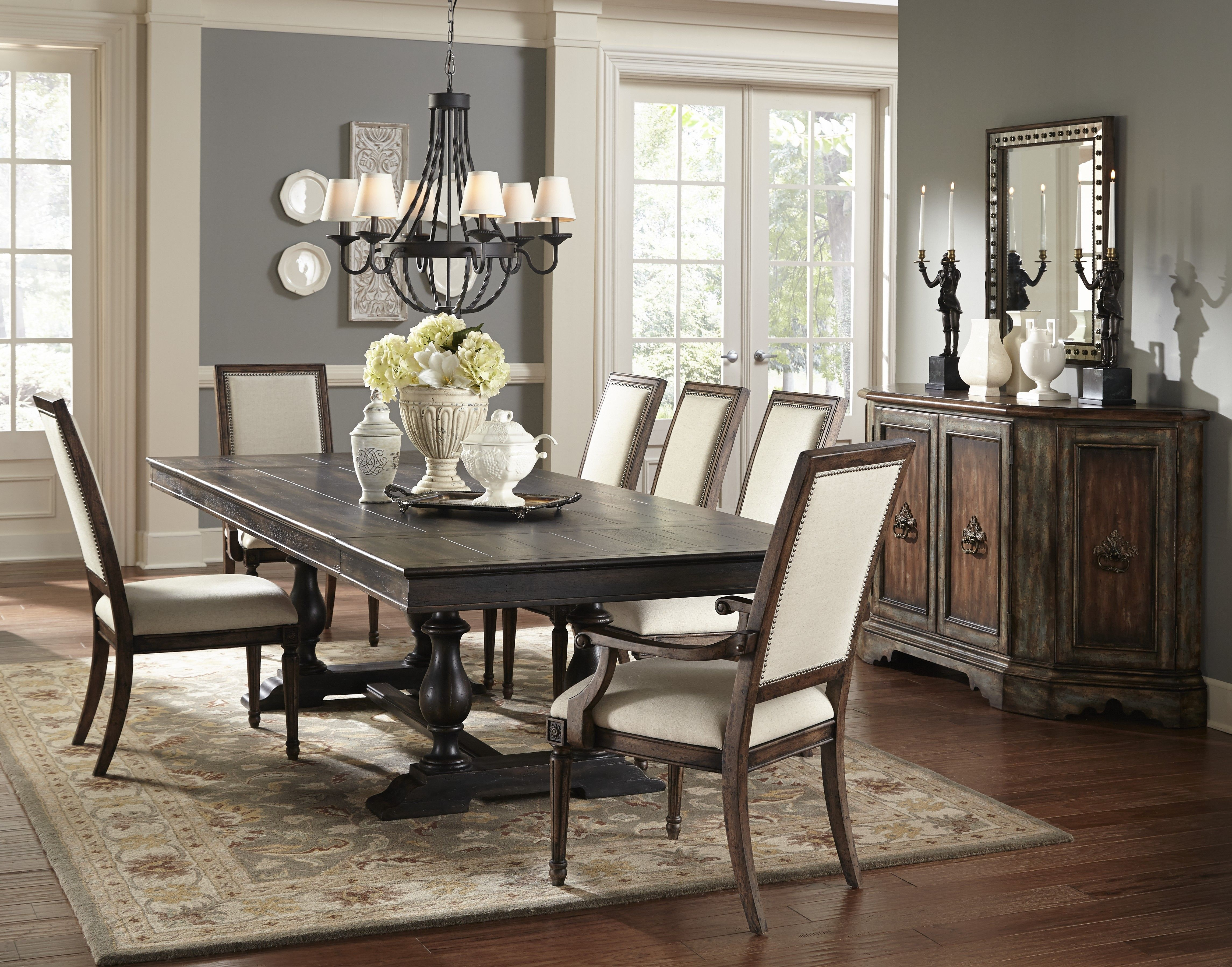 Long Rectangle Dining Table From Accentrics Home By Pulaski