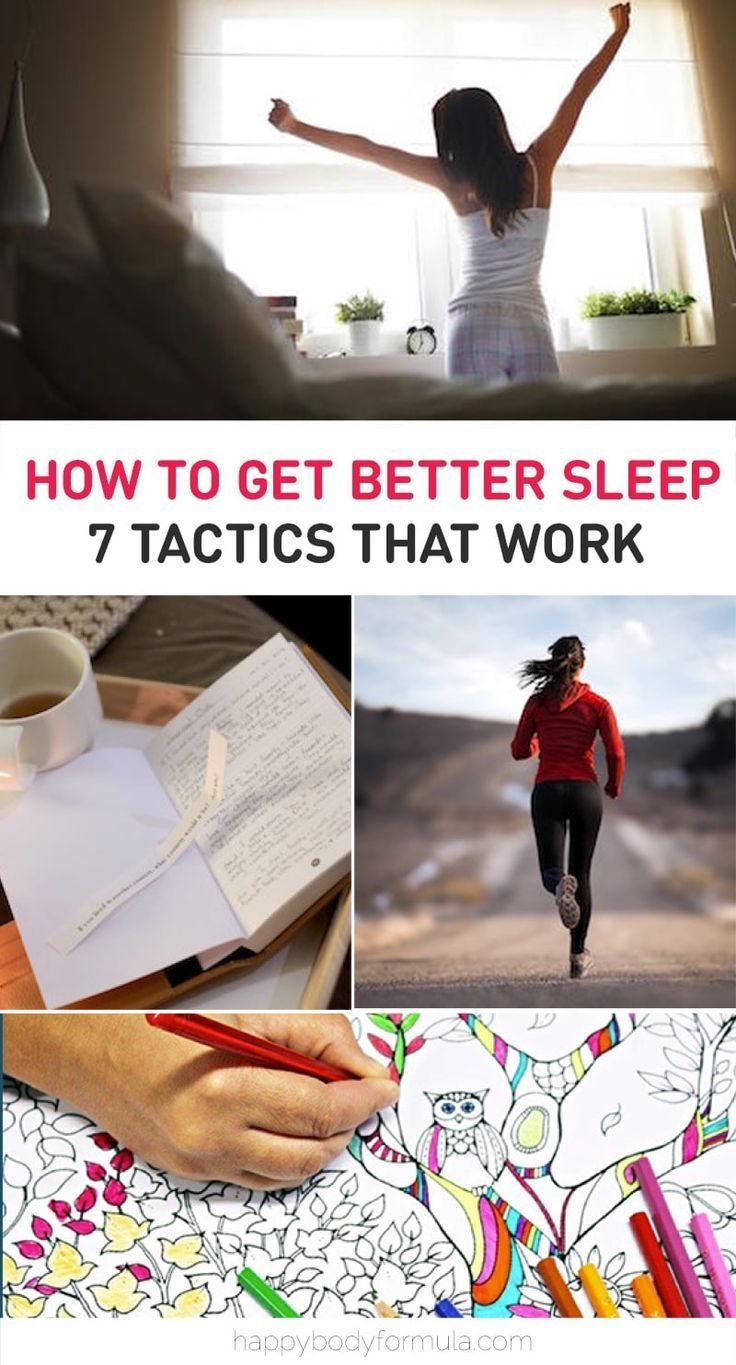 what helps you get to sleep faster