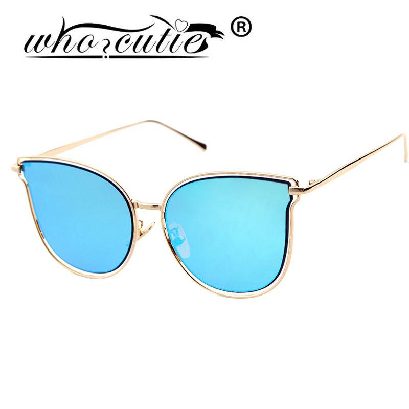 Who cutie oculos vintage cateye gafas de marco miopía gafas de lente ...