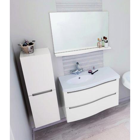 Ensemble Meubles de salle de bain ITALO 90 BLANC Pinterest
