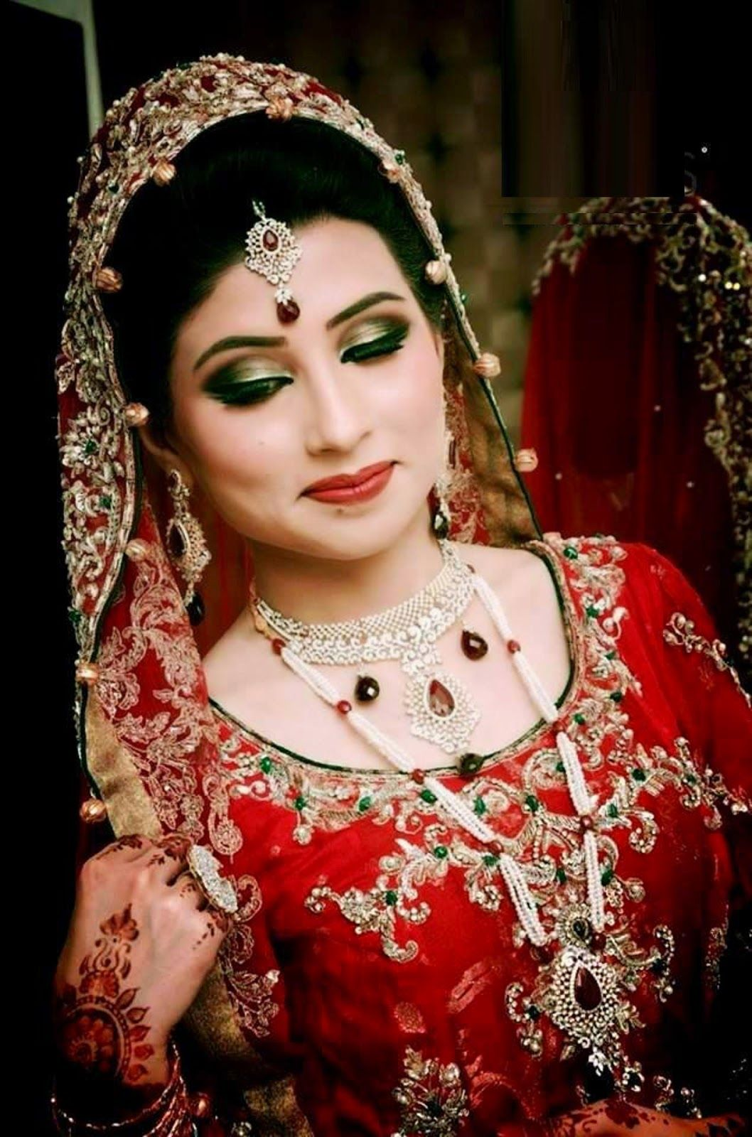 beautiful and pretty bridal makeup wallpaper | free all hd