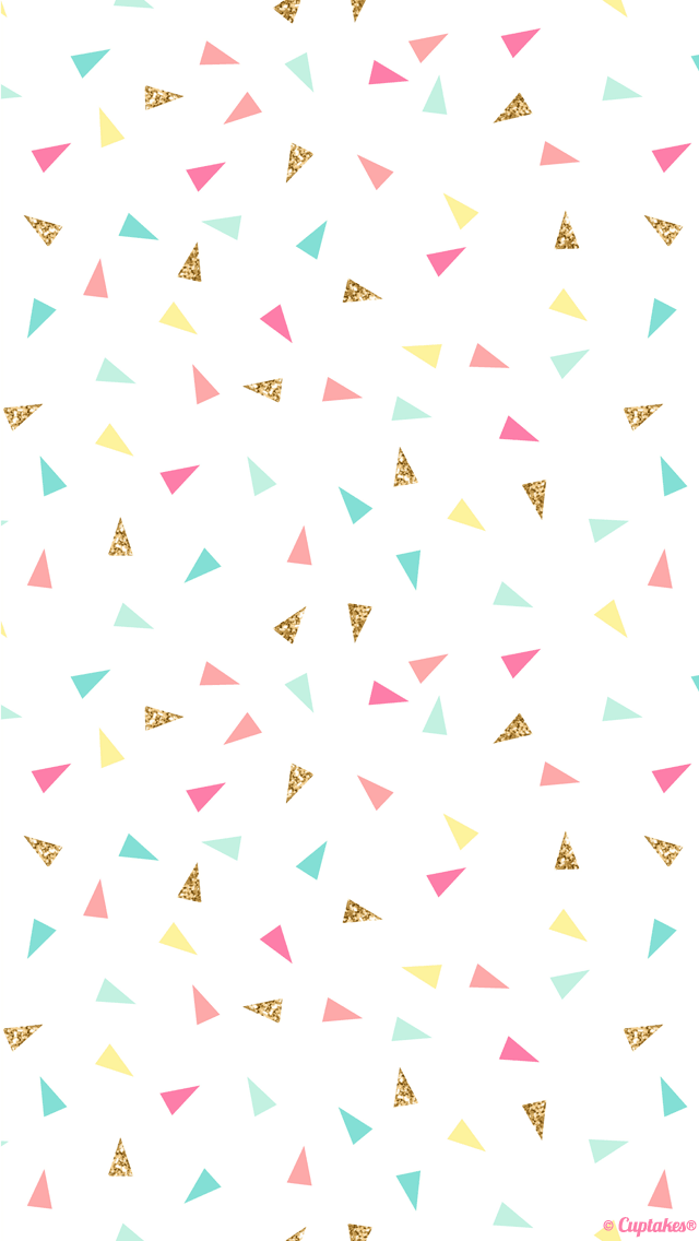 This wallpaper gives a pop of color to your device! ❤