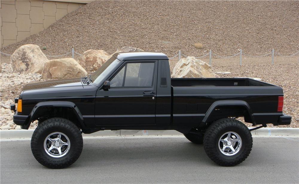 1990 jeep comanche custom pickup barrettjackson auction