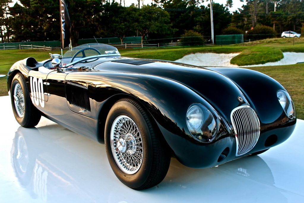 vintage cars jaguar c type motor pinterest. Black Bedroom Furniture Sets. Home Design Ideas
