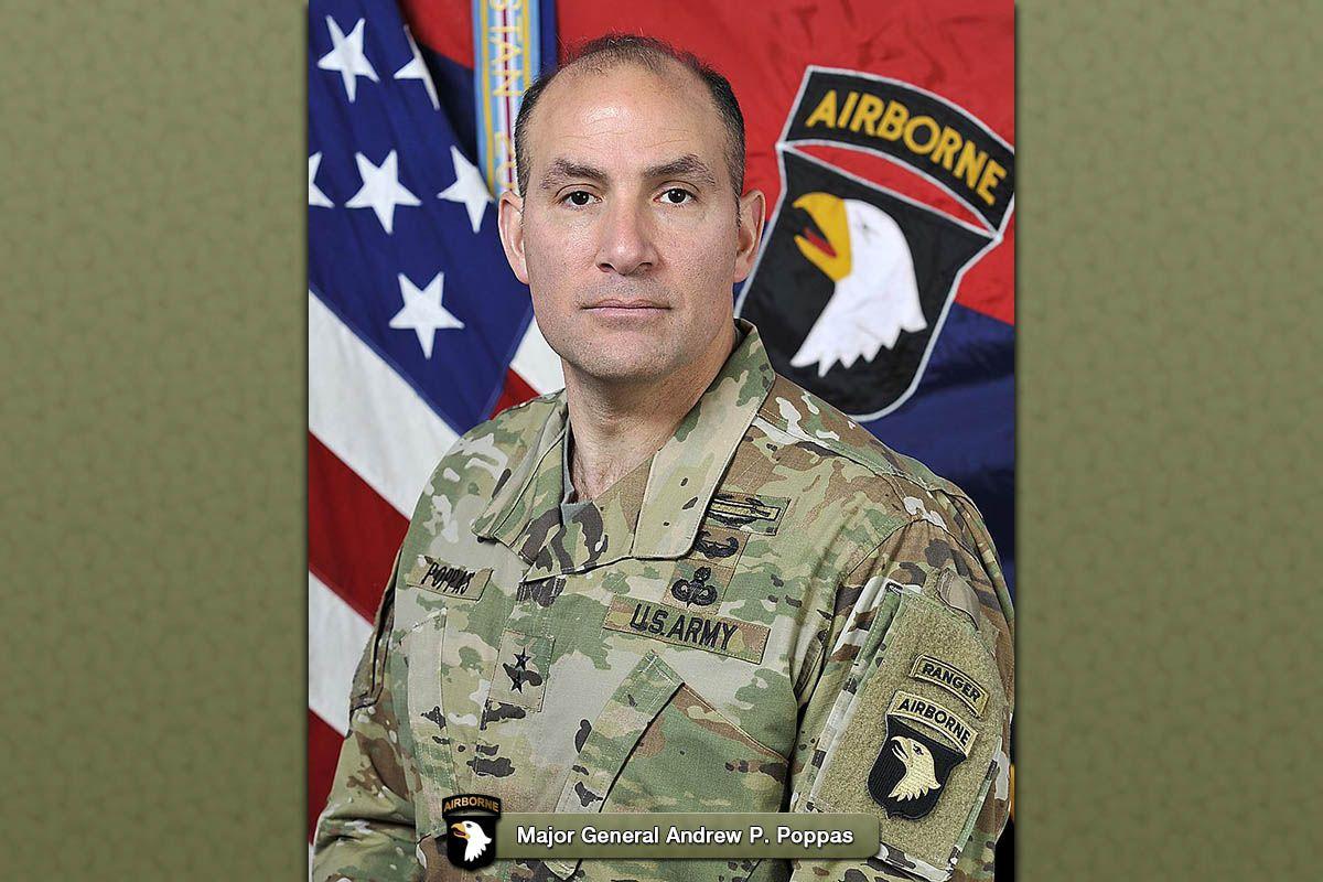 101st Airborne Division commanding general Major General