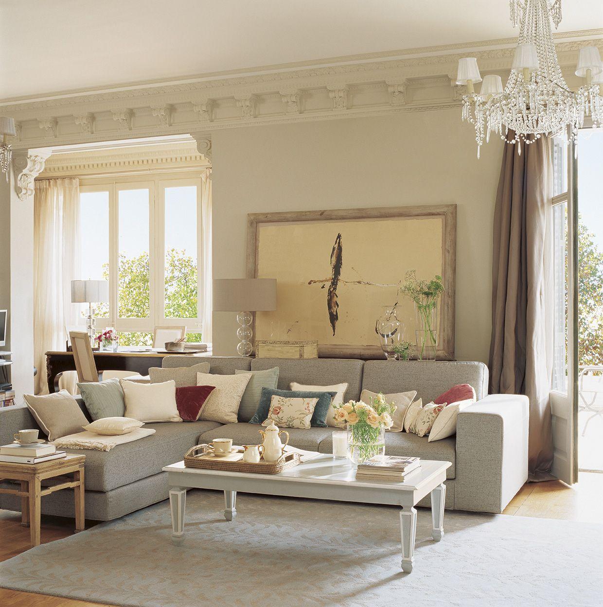 Salones con chaise longue rinconera en u con cama boogie chaise sofs sofs y sofa ios para el - Merkamueble sofas cheslong ...