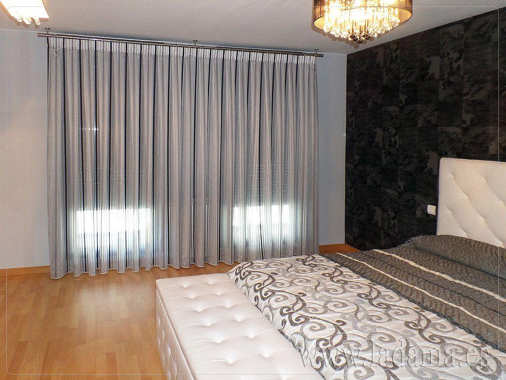 Dormitorios modernos buscar con google dormitorios - Cortinas habitacion ...