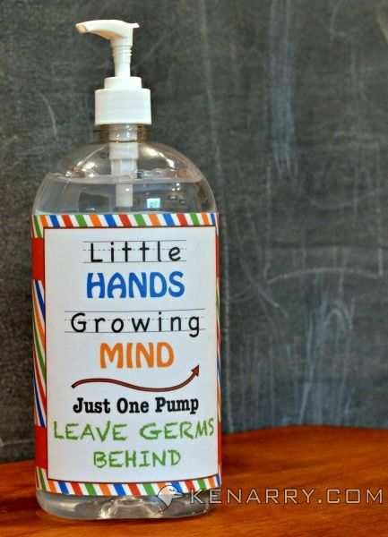 Hand Sanitizer Label Mockup Template Add Your Own Image And