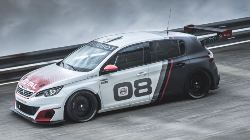 Peugeot 308 Racing Cup Turns Hot Hatch Into Track Machine W Video