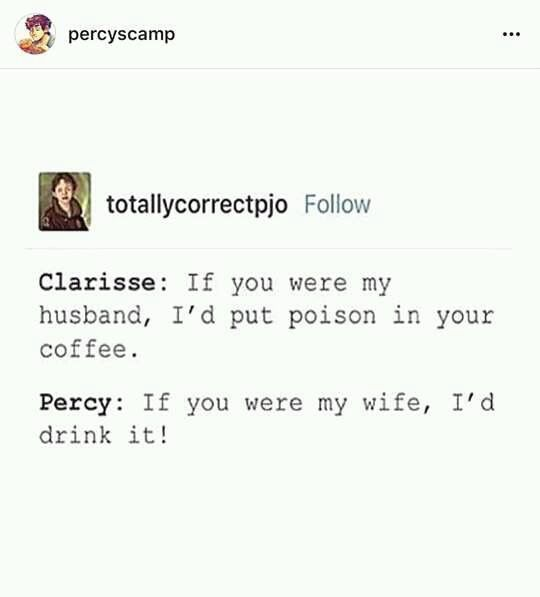 percy jackson funny pictures clarisse and percy 178