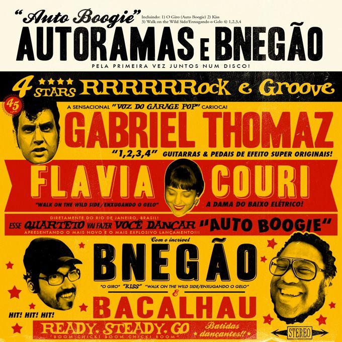 Auto Boogie é um EP lançado em 2014 pela parceria entre a banda Autoramas e o cantor BNegão. Produzido por Roberto Frejat o EP trás a fusão do rock cru (que em muitas vezes lembra a surf music dos anos 60) dos Autoramas com o groove funkiado de BNegão para a releitura de dois clássicos…