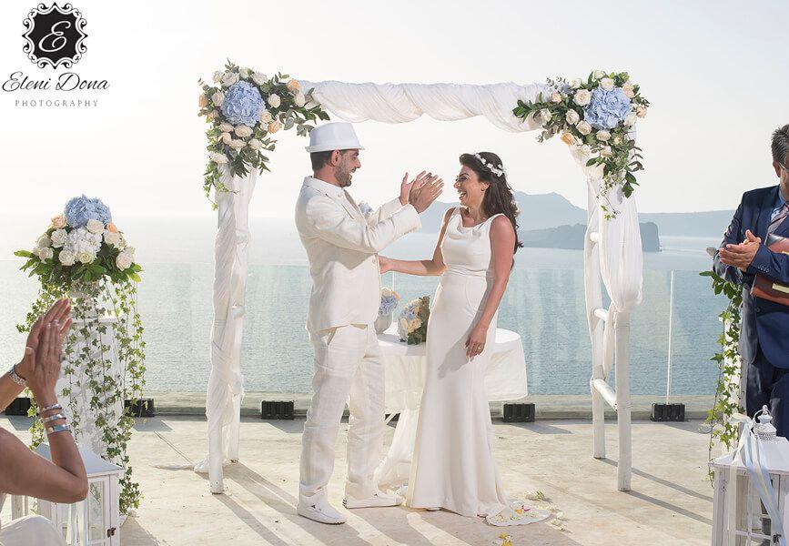 Lebanese wedding in Santorini, Oliver and Ruby - https://weddingingreece.com/lebanese-wedding-in-santorini-oliver-and-ruby/