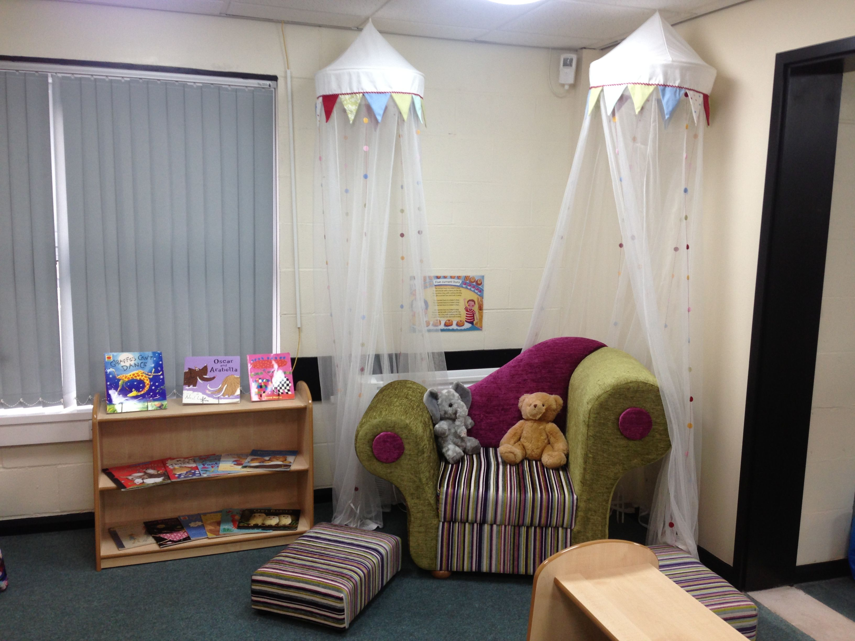 Reading Corners early years reception reading corner area | continuous provision