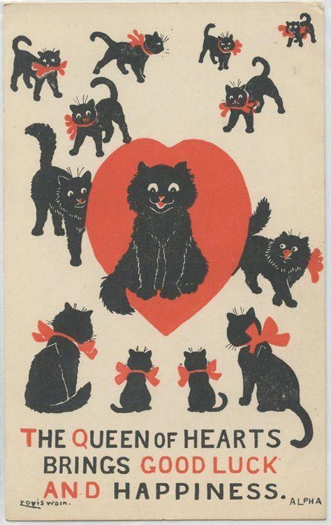 Image result for cat valentines #blackcats