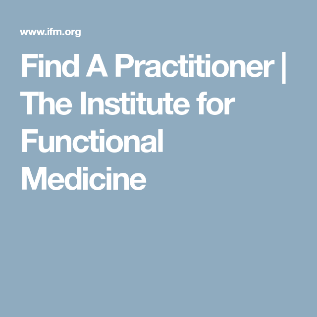 Find A Practitioner | fibro | Holistic practitioner