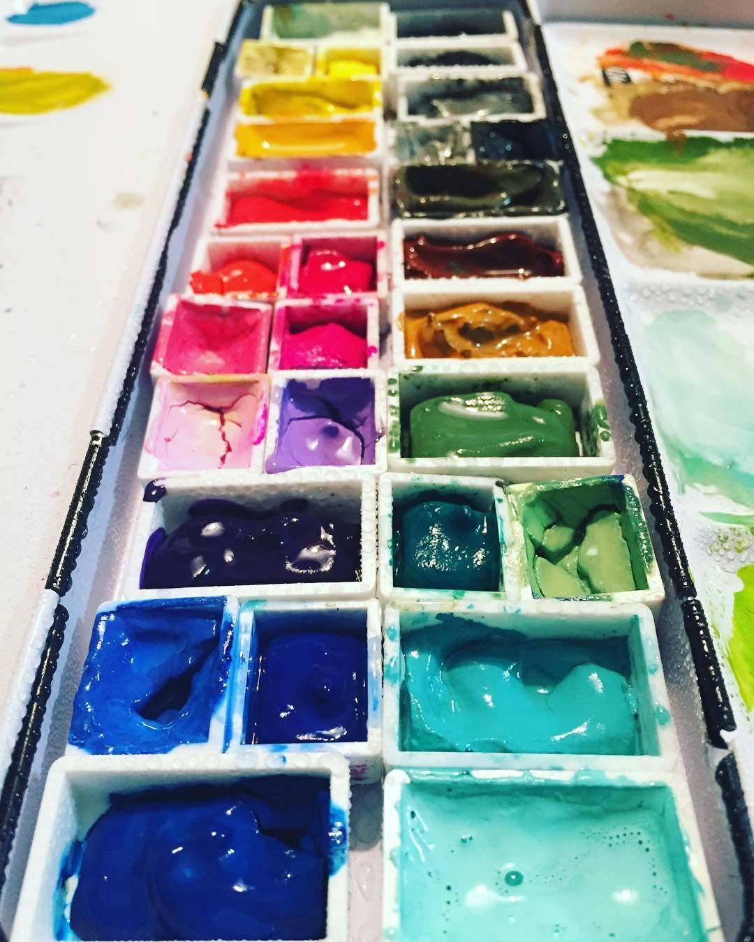 Any Day Is A Good Day For Paint Gouache Palette Passion