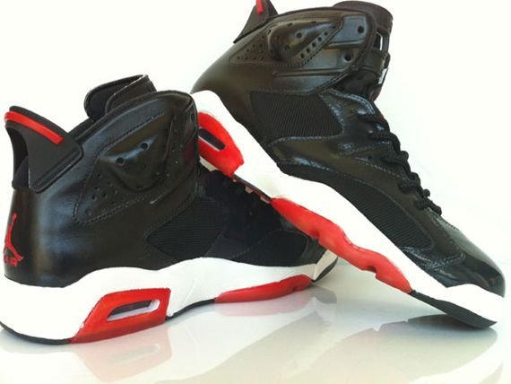 "wholesale dealer 03deb 31ca4 Air Jordan VI ""Bred XI"" Inspired Customs By LOBE"
