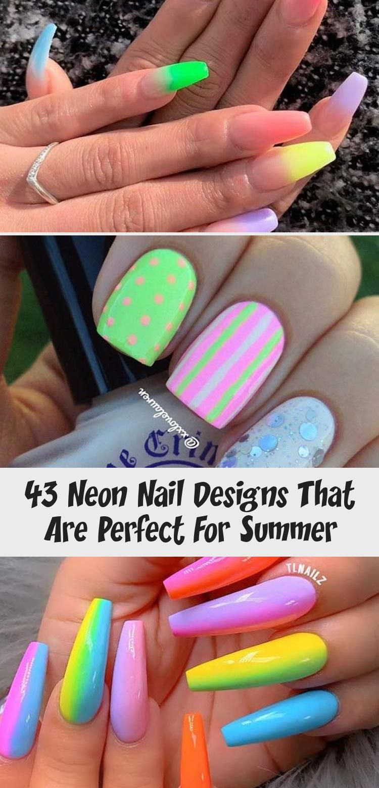 Photo of 43 Neon Nail Designs That Are Perfect For Summer – Beauty