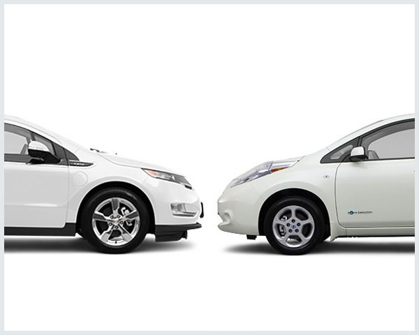 2017 Chevrolet Volt Vs 2017 Nissan Leaf Compare Cars Chevy