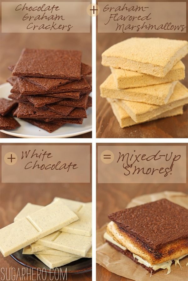 Mixed-Up S'mores #flavoredmarshmallows