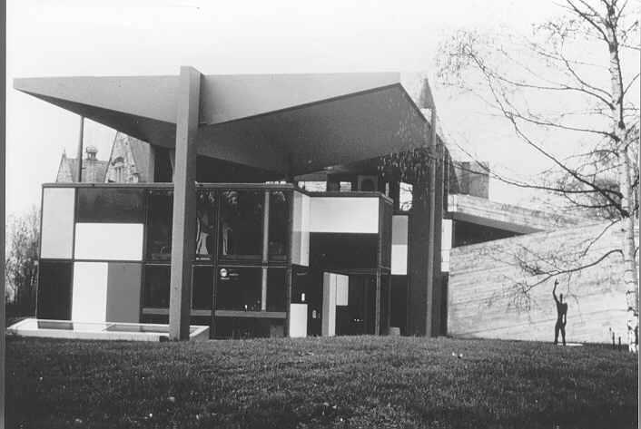 Fondation Le Corbusier - Buildings - Pavillon du0027exposition ZHLC