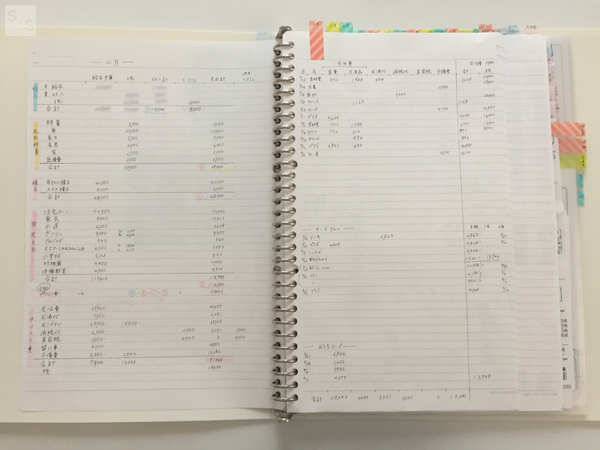 もっち家の実際の家計簿公開 もっちの ノート家計簿 はシンプルで