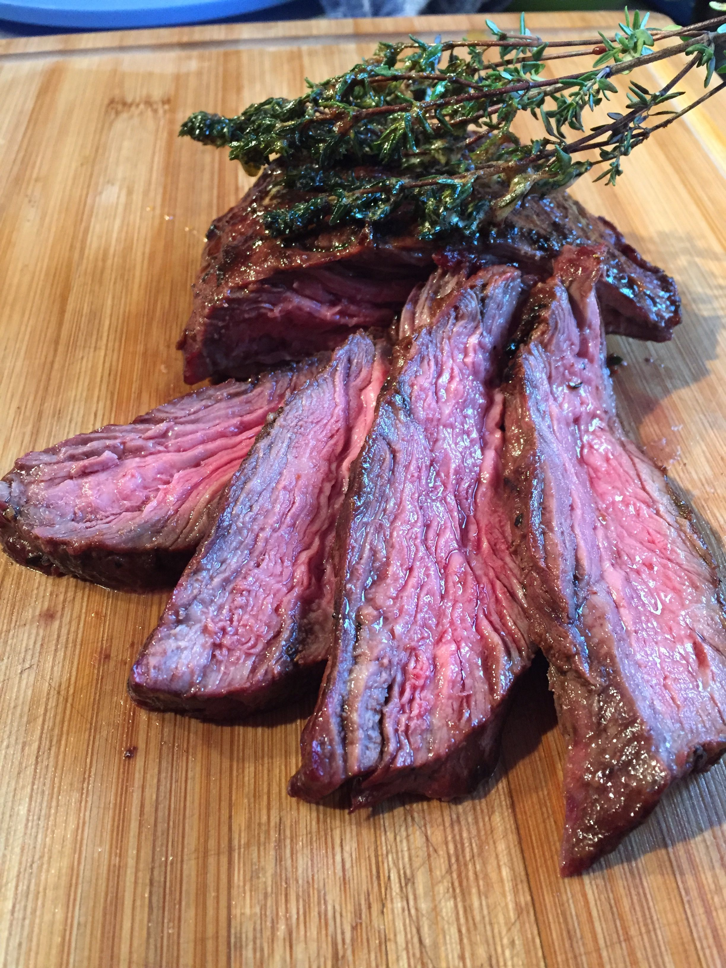 Flank Steak Schmoren