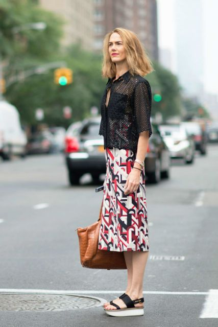 Style Right Now: 20 Street Style Looks from New York Fashion Week Spring  2015