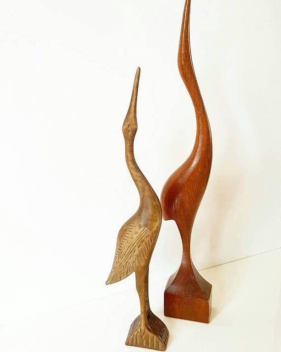 Bekijk dit items in mijn Etsy shop https://www.etsy.com/nl/listing/511201338/wooden-heron-sixties