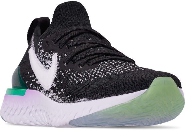 7b293be6401b1 Nike Girls  Big Kids  Epic React Flyknit 2 Running Shoes in 2019 ...