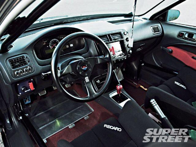 Interior | My 2000 Honda Civic EX Sedan | 2000 honda