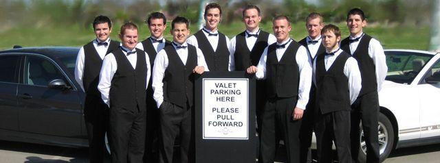 valet wedding parking attendants Simons wedding | Simon's Dream ...
