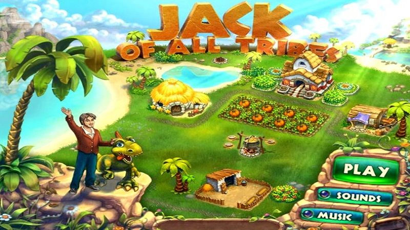 In Jack Of All Tribes After Accidentally Travelling Back In Time Help Jack Rule Primitive Tribes And Search For Artifacts From The Future Explore The Stone A