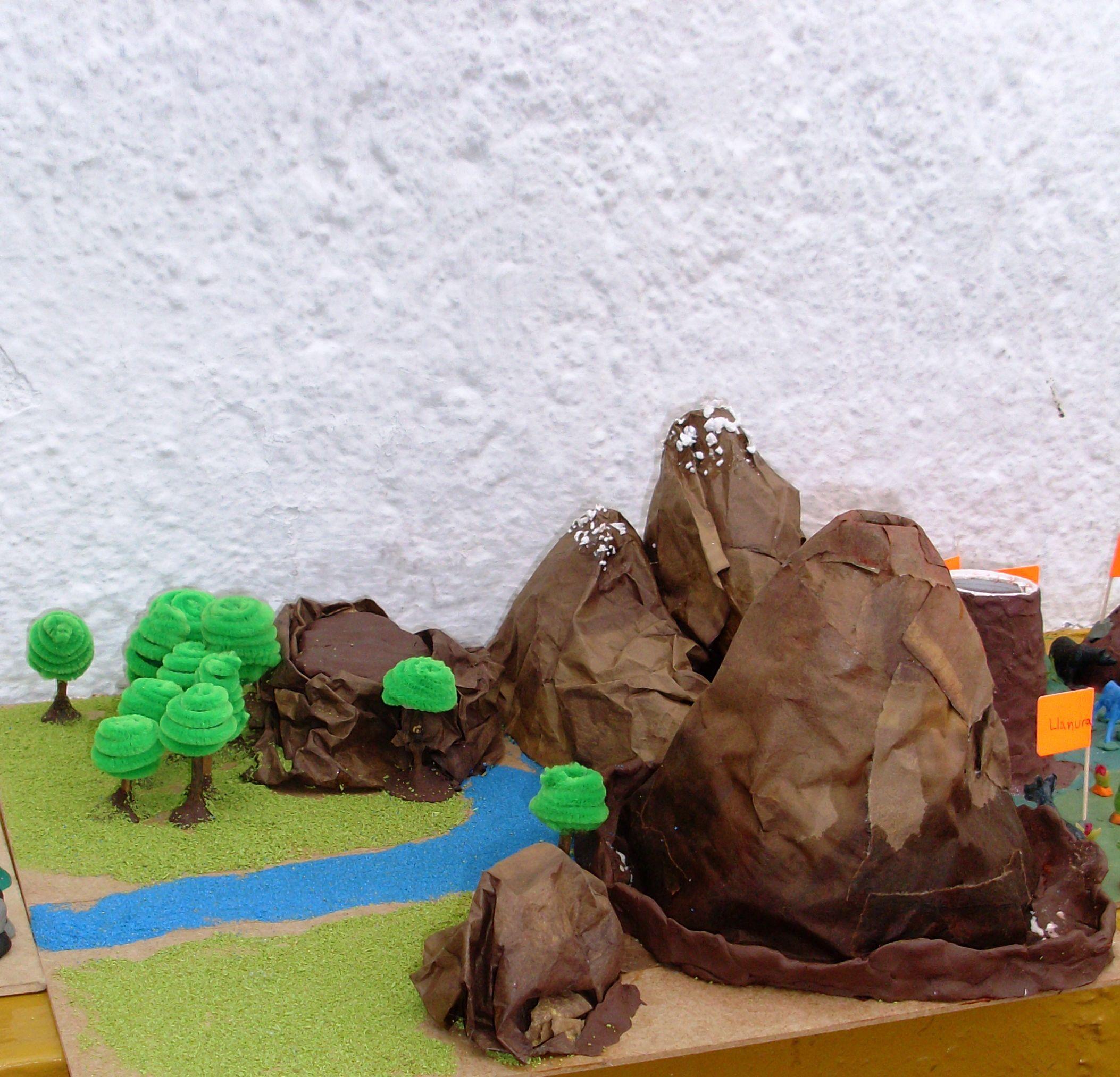 Volcán Y Montañas Diy Brownie Desserts