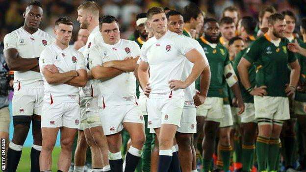 Rugby World Cup final Eddie Jones unable to explain why