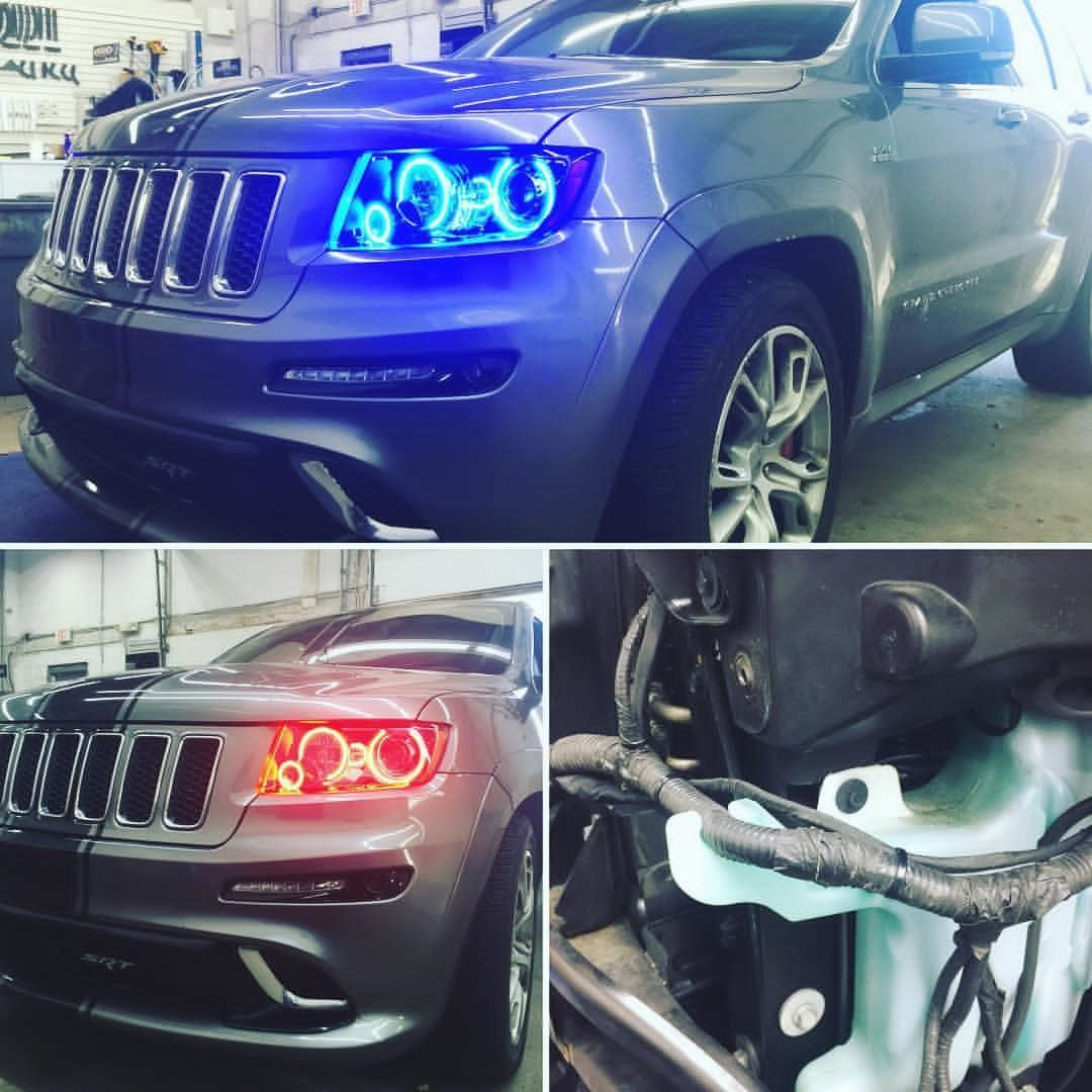2012 Jeep Grand Cherokee SRT8 With Some Oracle Halo LED