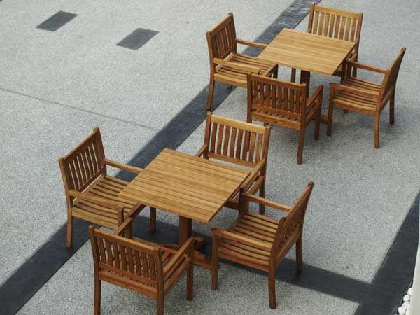 Restaurant Patio Furniture Wooden Outdoor Furniture Teak Furniture Teak Outdoor Furniture