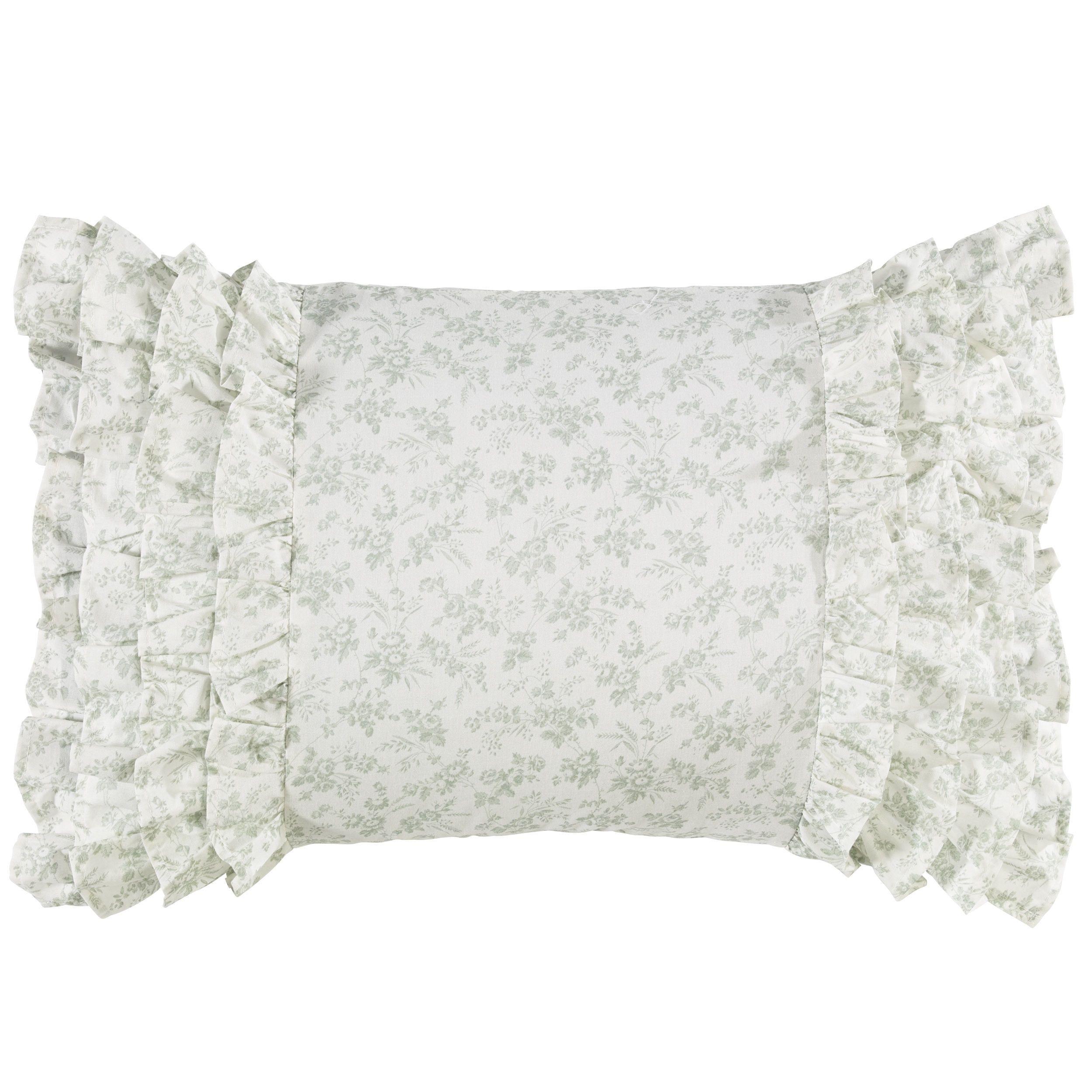 Laura Ashley Harper Breakfast Pillow (Harper Breakfast Pillow ...