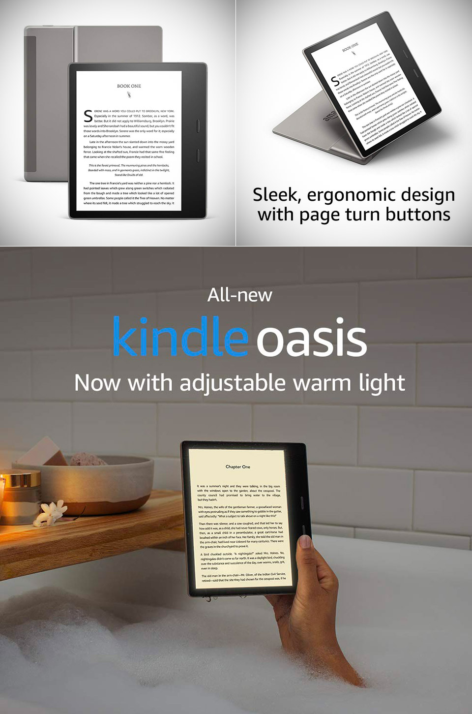 Amazon's AllNew Kindle Oasis 3 Makes the Best EBook