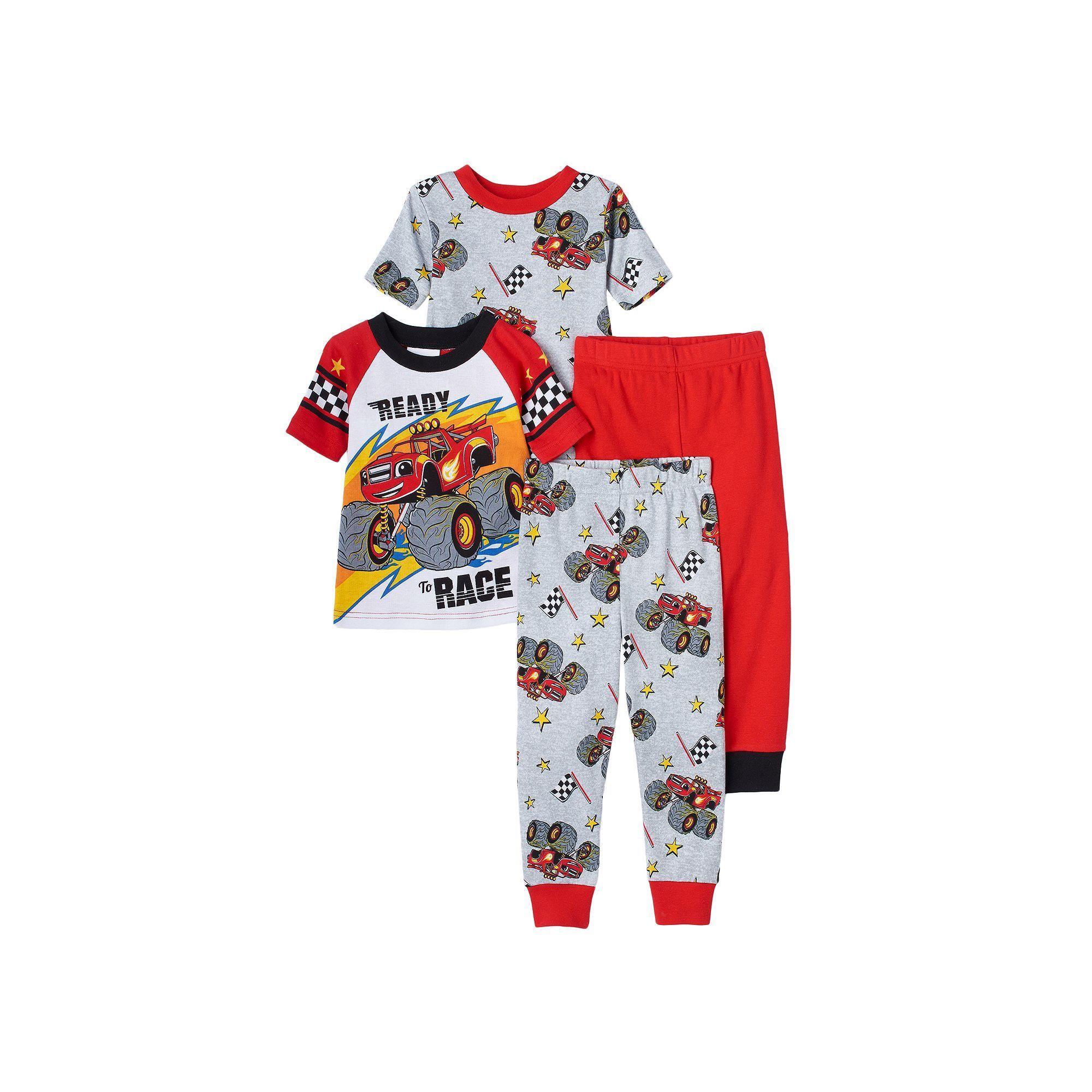 Paw Patrol Toddler Boys 4 Pc Snug Fit Christmas Pajama Set NWT Size 3T  Colorful