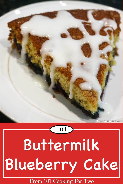 Easy Buttermilk Blueberry Cake Recipe Berry Dessert Blueberry Cake Baking